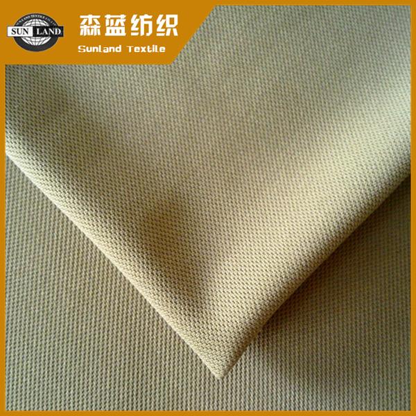 全涤珠地布 100 polyester pique fabric