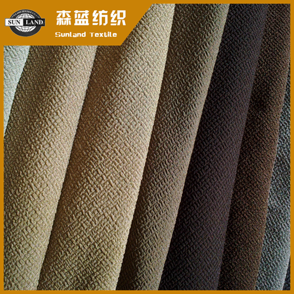 涤氨提花牛肚布 Polyester spandex jacquard fleece fabric