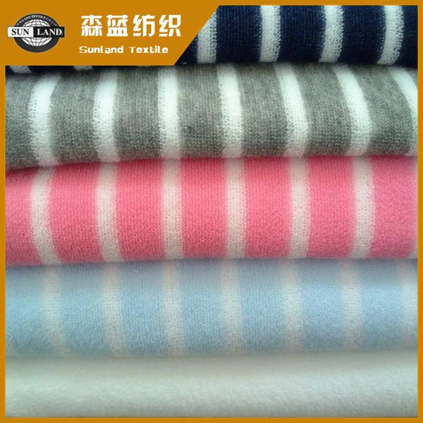 色织毛圈布 yarn dyed spun terry