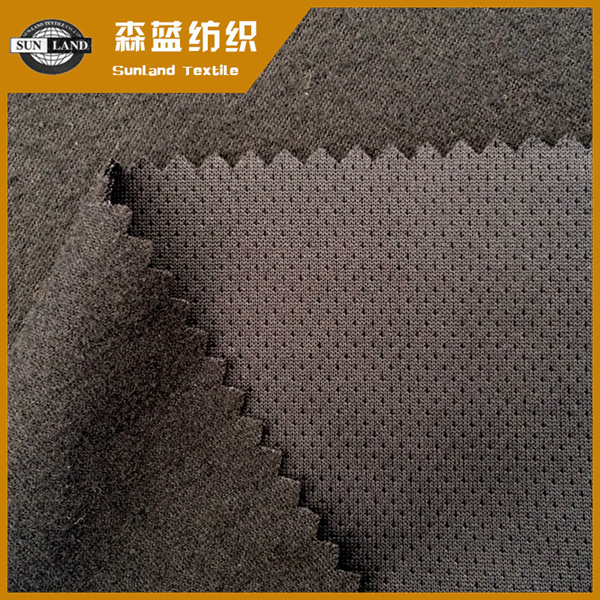 抗菌速干针眼拉毛布 Antibacterial dry fit brushed mesh