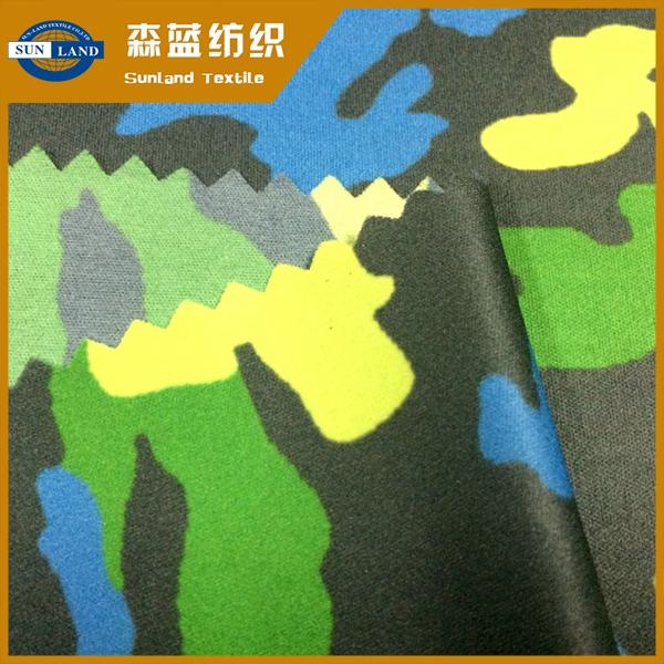 20D印花平布 Super light printing interlock fabric