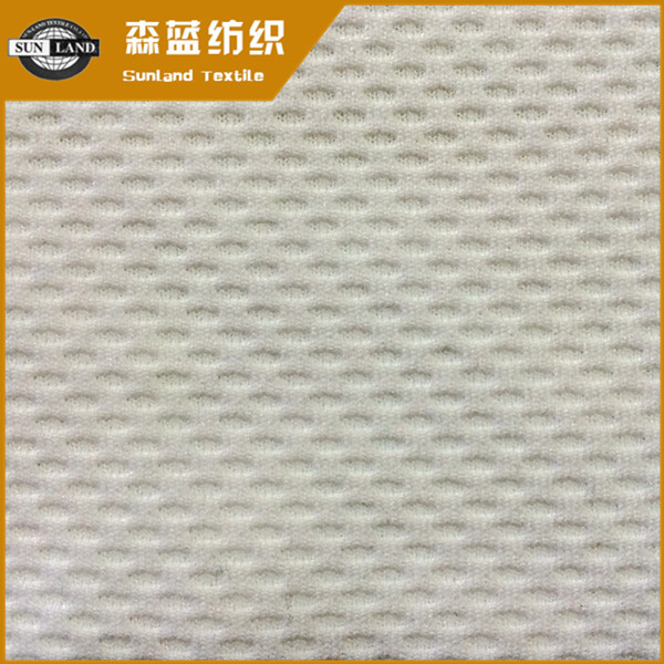 提花氨纶蜂巢布 Polyester spandex jacquard honeycomb