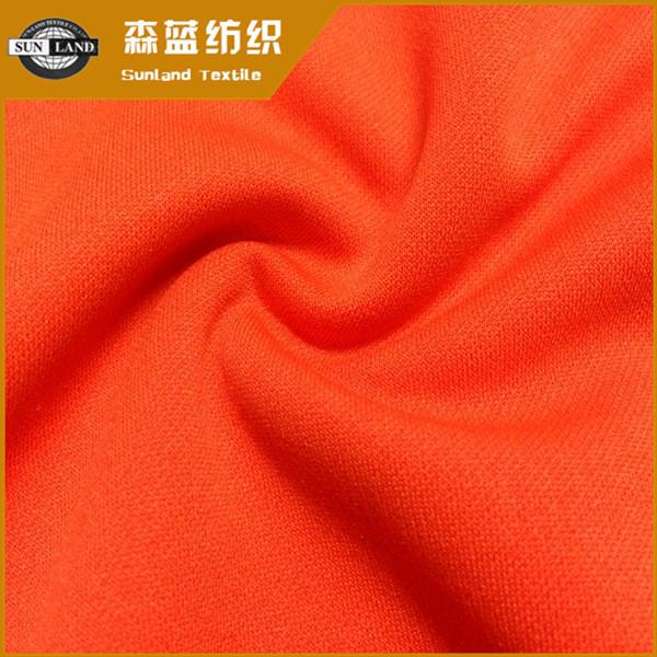 全涤网纹布 100 polyester PK interlock