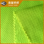 蝴蝶网眼绒布 Brushed butterfly mesh fabric