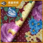 印花平纹布