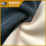 50D平布复合单单摇粒绒 Interlock bonded polar fleece