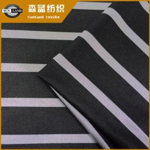 印花速干涤氨汗布 Printed dry fit poly spandex jersey