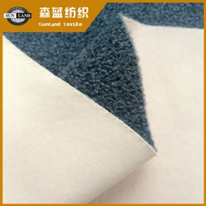 50D平布复合摇粒绒 50D interlock bonded polar fleece