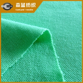 吴中棉盖涤单珠地 Cotton cover polyester single pique